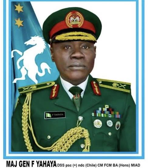 Major-General Farouk Yahaya