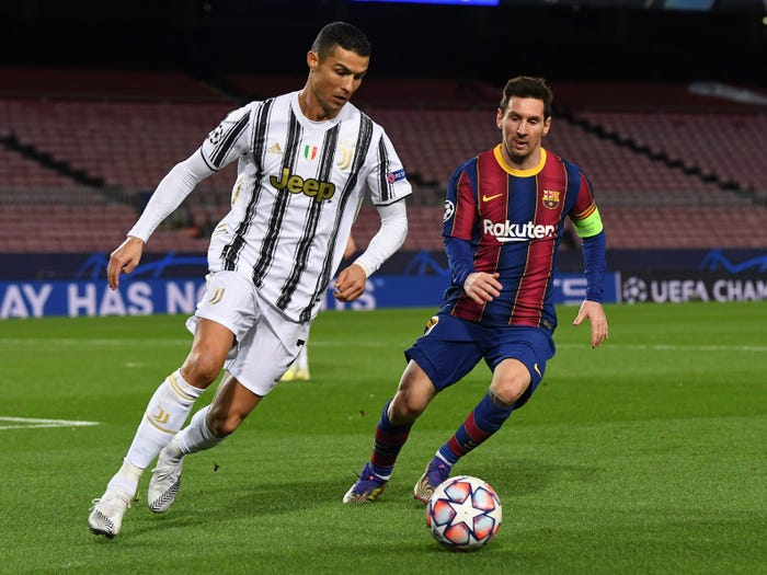 Ronaldo Overtakes Messi To Becomes Highest Earner In World Football